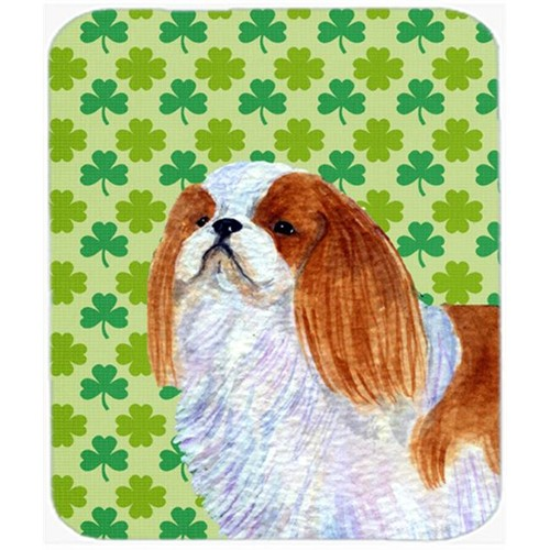 Carolines Treasures SS4438MP English Toy Spaniel St. Patricks Day Shamrock Mouse Pad Hot Pad Or Trivet