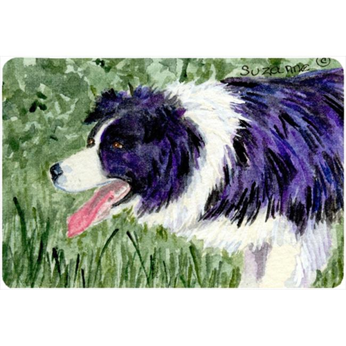 Carolines Treasures SS8843MP 9.25 x 7.75 in. Border Collie Mouse Pad Hot Pad Or Trivet