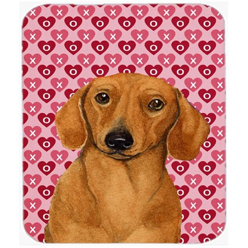 Carolines Treasures LH9132MP Dachshund Hearts Love And Valentines Day Portrait Mouse Pad Hot Pad or Trivet