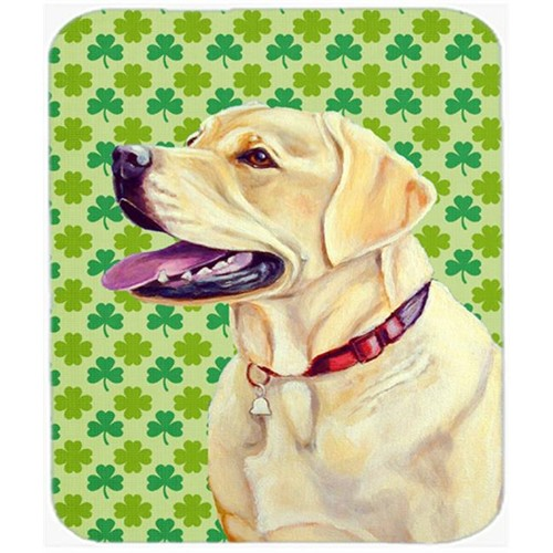 Carolines Treasures LH9203MP Labrador St. Patricks Day Shamrock Portrait Mouse Pad Hot Pad or Trivet