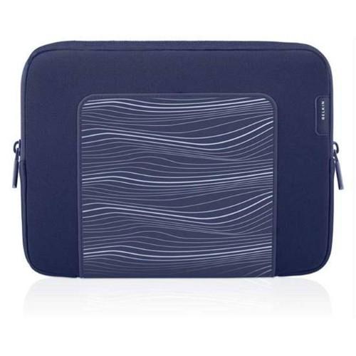 Belkin 192763 Belkin Grip Ergo Sleeve for iPads & Tablets - Indigo Blue - F8N278TT132