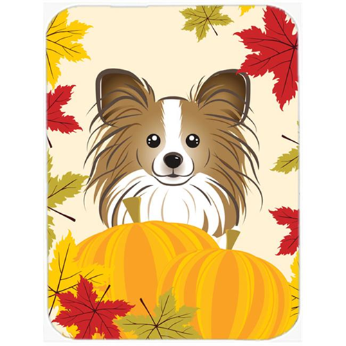 Carolines Treasures BB2054MP Papillon Thanksgiving Mouse Pad Hot Pad or Trivet