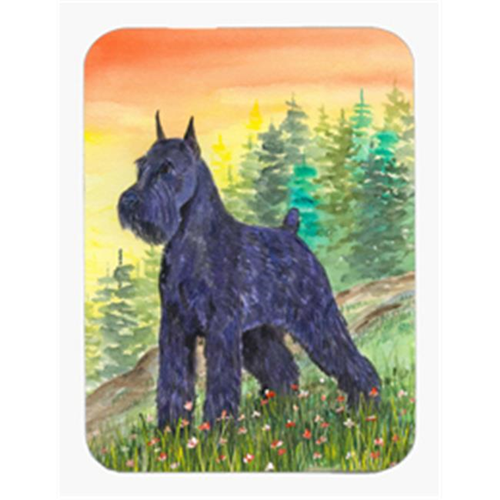 Carolines Treasures SS1051MP 8 x 9.5 in. Schnauzer Mouse Pad Hot Pad or Trivet