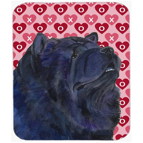 Carolines Treasures SS4501MP Chow Chow Hearts Love And Valentines Day Portrait Mouse Pad Hot Pad Or Trivet