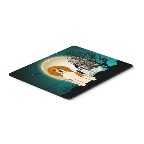 Carolines Treasures BB2230MP Halloween Scary Beagle Tricolor Mouse Pad Hot Pad or Trivet