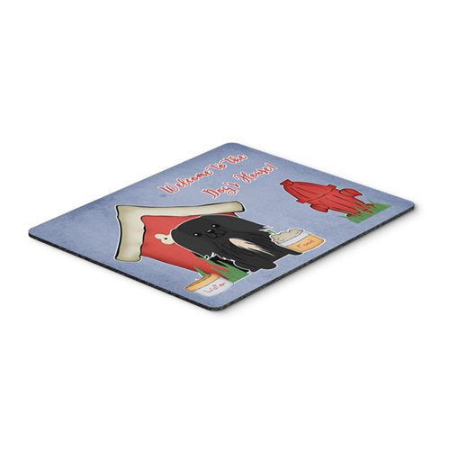 Carolines Treasures BB2861MP Dog House Collection Pekingnese Black Mouse Pad Hot Pad or Trivet