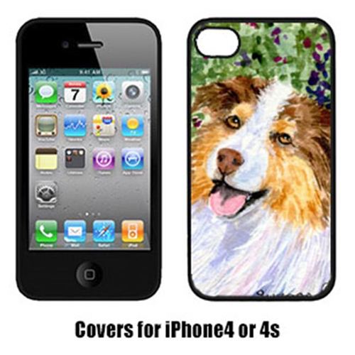 Carolines Treasures SS8819IP4 Australian Shepherd Iphone 4 Cover