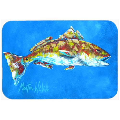 Carolines Treasures MW1098MP Fish - Red Fish Seafood Two Mouse Pad Hot Pad or Trivet