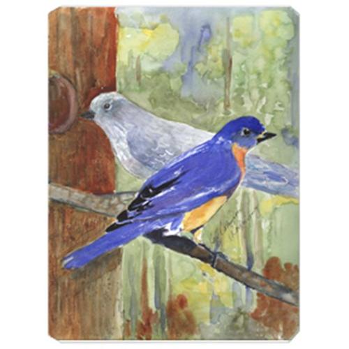 Carolines Treasures KR9025MP 9.5 x 8 in. Bird - Mountain Bluebird Mouse Pad Hot Pad Or Trivet