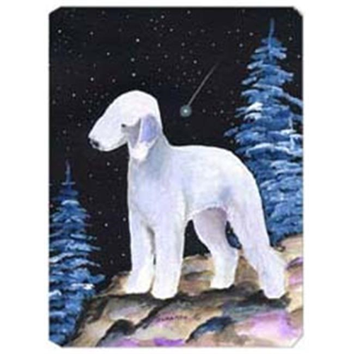 Carolines Treasures SS8455MP Starry Night Bedlington Terrier Mouse Pad