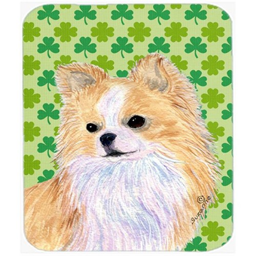 Carolines Treasures SS4404MP Chihuahua St. Patricks Day Shamrock Portrait Mouse Pad Hot Pad Or Trivet