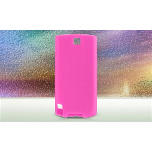DreamWireless SCHTCPUREHP-PR HTC Pure & Touch Diamond 2 Premium Skin Case - Hot Pink