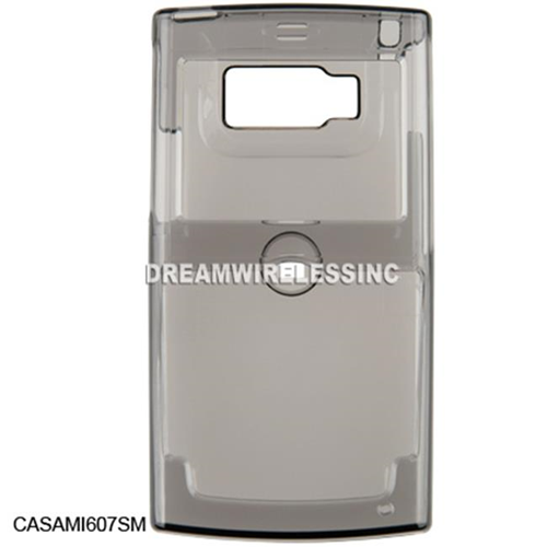 DreamWireless CASAMI607SM Samsung I607 Crystal Case Smoke