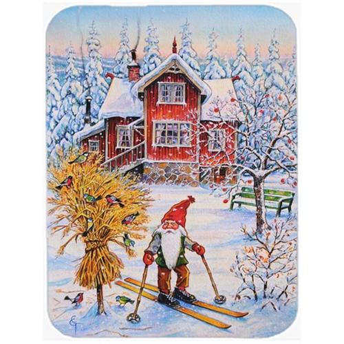 Carolines Treasures ACG0034MP Christmas Gnome Skiing Mouse Pad Hot Pad or Trivet