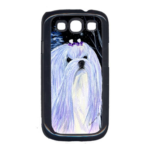 Carolines Treasures SS8378GALAXYSIII Starry Night Maltese Cell Phone Cover Galaxy S111