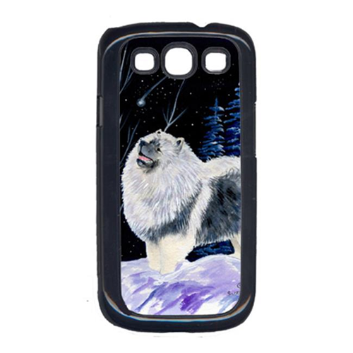 Carolines Treasures SS8357GALAXYSIII Starry Night Keeshond Galaxy S111 Cell Phone Cover