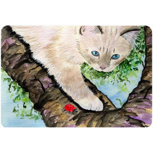 Carolines Treasures SS8276MP Cat - Birman Mouse Pad Hot Pad Or Trivet