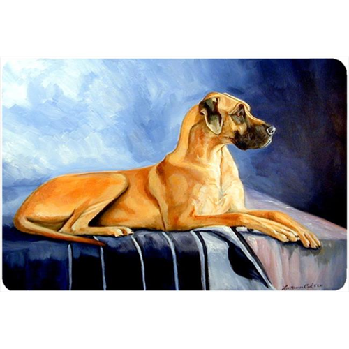 Carolines Treasures 7204MP Natural Fawn Great Dane Mouse Pad Hot Pad Or Trivet