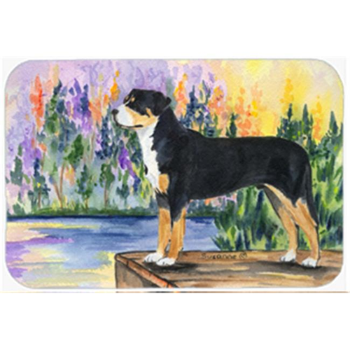 Carolines Treasures SS8160MP Greater Swiss Mountain Dog Mouse Pad Hot Pad & Trivet