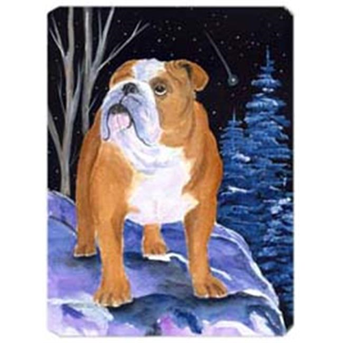 Carolines Treasures SS8405MP Starry Night English Bulldog Mouse Pad