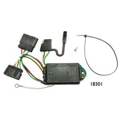 Tow Ready 118301 T-One Connector Assembly With Circuit Protected Converter 8.88 x 3.98 x 3.63 in.