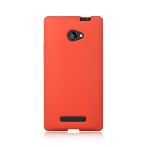 DreamWireless SCHTC8XRD-PR HTC One 8X Premium Skin Case - Red