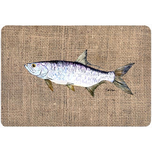 Carolines Treasures 8774MP 9.25 x 7.75 in. Fish - Tarpon Mouse Pad Hot Pad Or Trivet