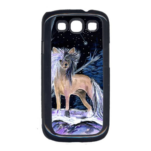Carolines Treasures SS8390GALAXYSIII Starry Night Chinese Crested Cell Phone Cover For Galaxy S111