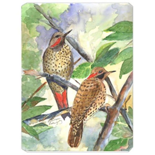 Carolines Treasures KR9023MP 9.5 x 8 in. Bird - Northern Flicker Yellowhammer Mouse Pad Hot Pad Or Trivet