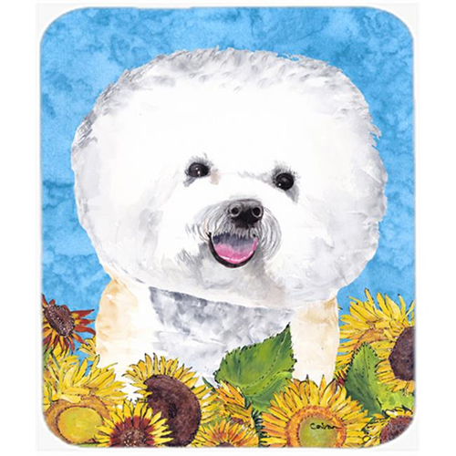 Carolines Treasures SC9059MP Bichon Frise Mouse Pad Hot Pad Or Trivet