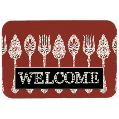 Carolines Treasures SB3090MP 7.75 x 9.25 In. Serving Spoons Welcome Mouse Pad Hot Pad Or Trivet