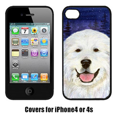 Carolines Treasures SS8242IP4 Great Pyrenees Cell Phone cover IPhone 4