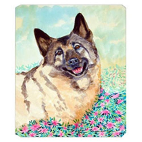 Carolines Treasures 7231MP 8 x 9.5 in. Norwegian Elkhound Mouse Pad Hot Pad or Trivet