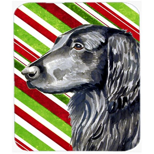 Carolines Treasures LH9231MP Flat Coated Retriever Candy Cane Holiday Christmas Mouse Pad Hot Pad Or Trivet