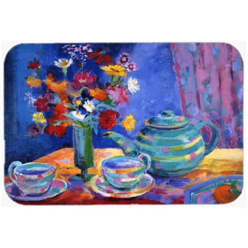 Carolines Treasures HWH0010MP Blue Tea by Wendy Hoile Mouse Pad Hot Pad or Trivet