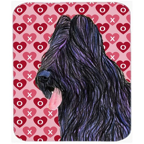 Carolines Treasures SS4489MP Briard Hearts Love And Valentines Day Mouse Pad Hot Pad Or Trivet