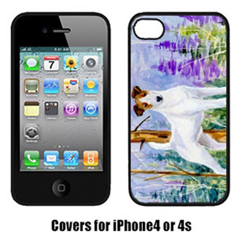Carolines Treasures SS8637IP4 Jack Russell Terrier Cell Phone Cover Iphone4