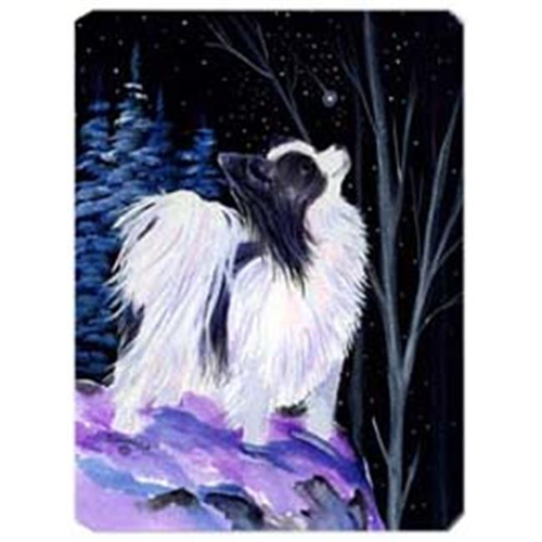 Carolines Treasures SS8383MP Starry Night Papillon Mouse Pad