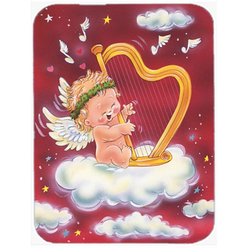 Carolines Treasures AAH7273MP Angels with Harp Valentines Mouse Pad Hot Pad or Trivet