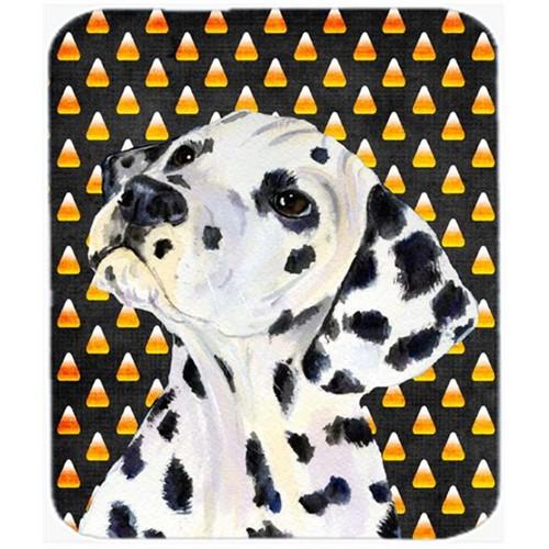 Carolines Treasures SS4286MP Dalmatian Candy Corn Halloween Portrait Mouse Pad Hot Pad Or Trivet