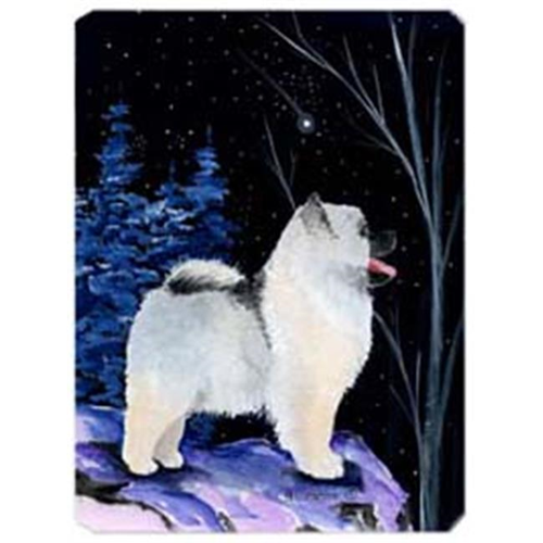 Carolines Treasures SS8380MP Starry Night Keeshond Mouse Pad