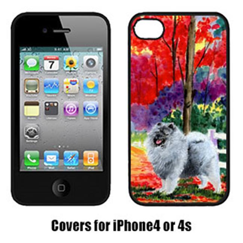 Carolines Treasures SS8432IP4 Keeshond Cell Phone Cover Iphone 4