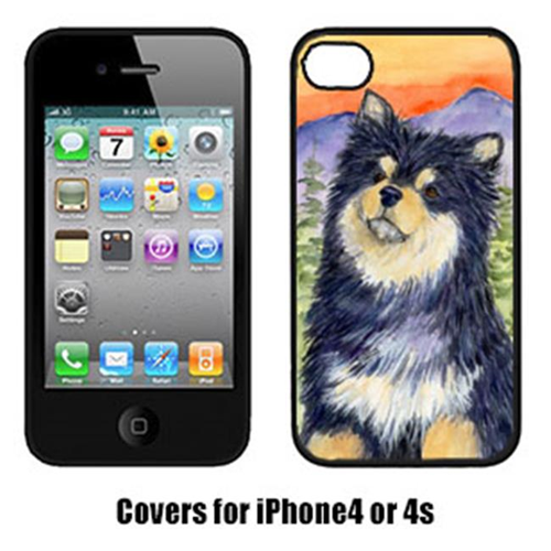 Carolines Treasures SS1057IP4 Finnish Lapphund Iphone 4 Cover