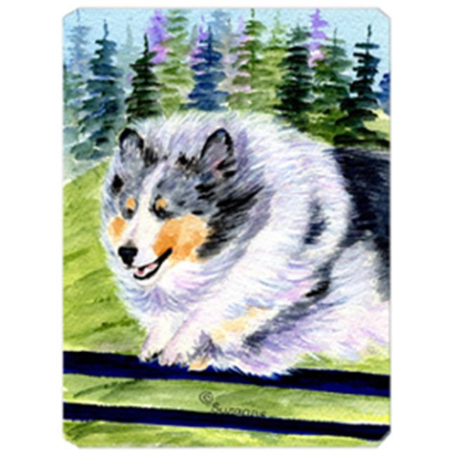 Carolines Treasures SS8305MP Sheltie Mouse Pad Hot Pad & Trivet