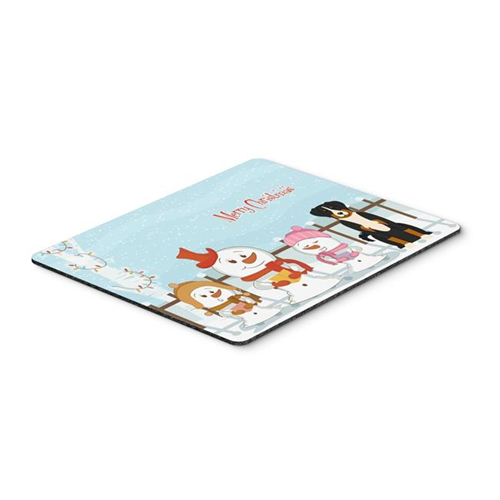 Carolines Treasures BB2374MP Merry Christmas Carolers Appenzeller Sennenhund Mouse Pad Hot Pad or Trivet