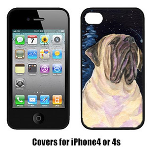 Carolines Treasures SS8448IP4 Starry Night Mastiff Cell Phone Cover Iphone 4