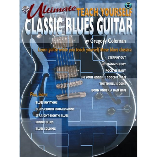 Alfred 00-0634B Ultimate Teach Yourself Classic Blues Guitar - Music ...