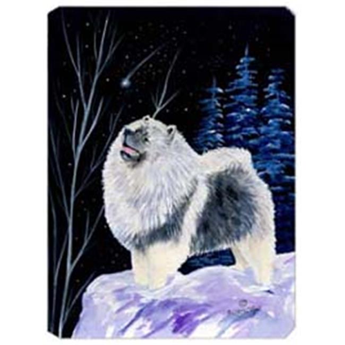 Carolines Treasures SS8357MP Starry Night Keeshond Mouse Pad