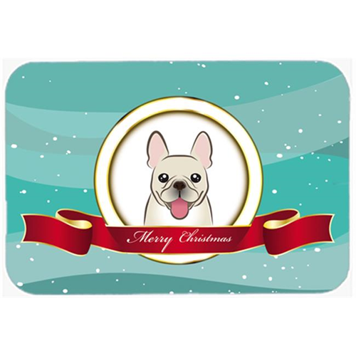 Carolines Treasures BB1548MP French Bulldog Merry Christmas Mouse Pad Hot Pad & Trivet