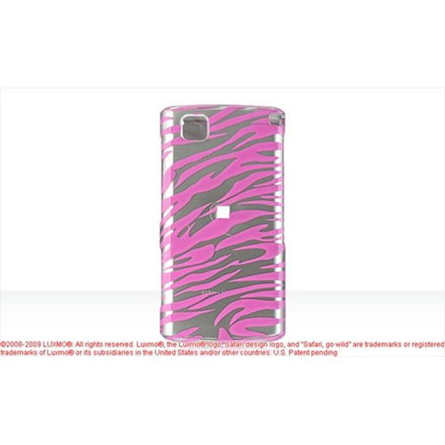 DreamWireless CALGCT810HPZ LG Incite Ct810 Crystal Case Hot Pink Zebra